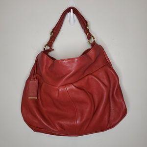 Pour La Victoire Red Leather Purse